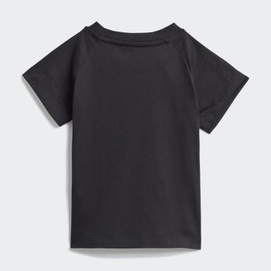 T-shirt Adicolor Preto Criança Originals