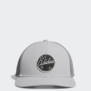 Men's Golf Grey Patch Trucker Hat
