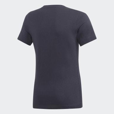 T-shirt adidas London Blu Ragazzo Training
