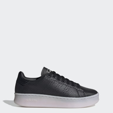 Tenis Advantage Bold Negro Mujer Sport Inspired