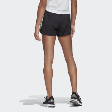 Women Running Black Run It Shorts