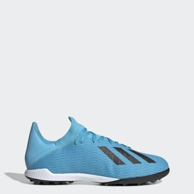 Zapatos de Fútbol X 19.3 Césped Artificial Turquesa Hombre Fútbol