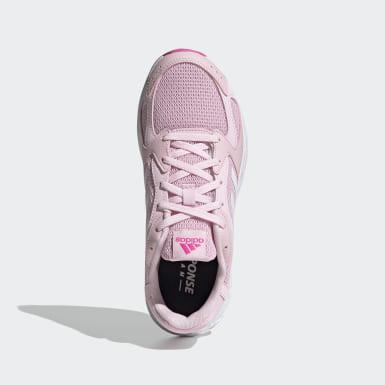 Zapatillas Response Run Rosado Mujer Running