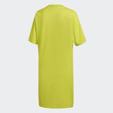 Women Originals Yellow Tee Dress