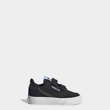 Infants Originals Black Continental Vulc Shoes
