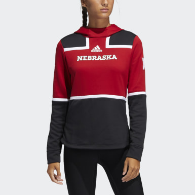 Women's Athletics Multicolor Cornhuskers Under the Lights Pullover Hoodie