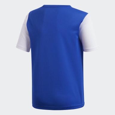 Camiseta Estro 19 Azul Niño Fútbol