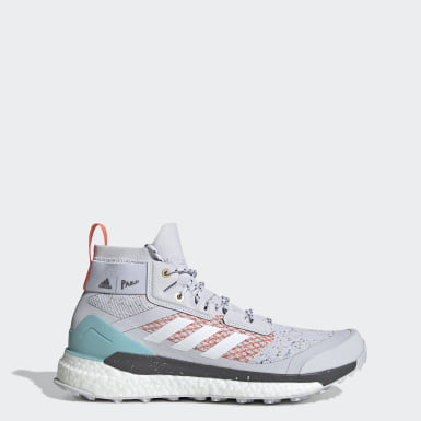 TERREX Grey Terrex Free Hiker Parley Hiking Shoes