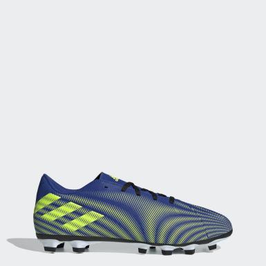 Calzado de Fútbol Nemeziz.4 Multiterreno Azul Mujer Fútbol