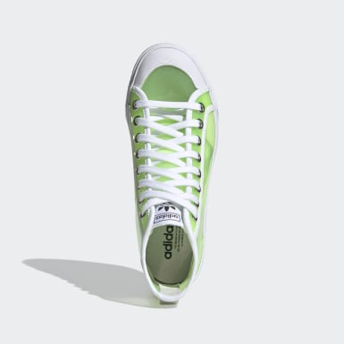 Women Originals Green Nizza Hi Jelly Shoes