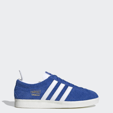 Men Originals Blue Gazelle Vintage Shoes