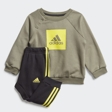 Conjunto em Fleece 3-Stripes
