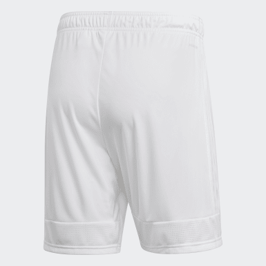 Men Soccer White Tastigo 19 Shorts