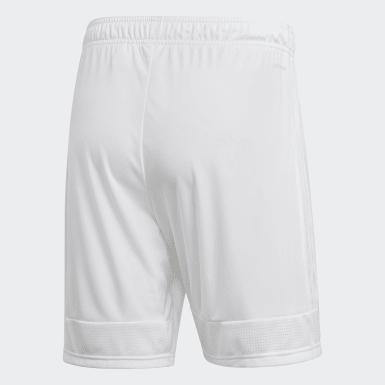 Men Soccer White Tastigo 19 Shorts