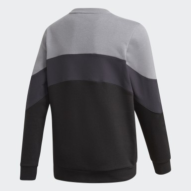 Barn Originals Grå BX-20 Crew Sweatshirt