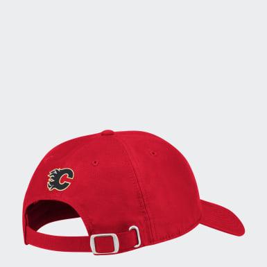 Men Hockey Multicolor Flames Coach Slouch Adjustable Hat