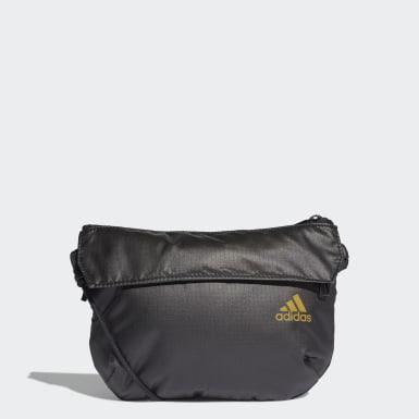 ผู้หญิง เทรนนิง สีดำ กระเป๋าสะพายข้างขนาดเล็ก
