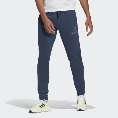 Männer Athletics adidas Sportswear Graphic Hose Blau
