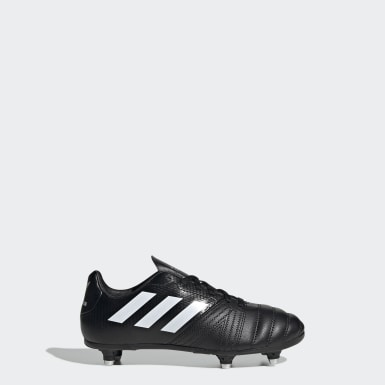 Botas All Blacks Júnior – Piso Suave Preto Rapazes Rugby