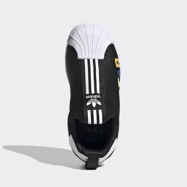 Zapatillas Superstar 360 X Negro Niño Originals