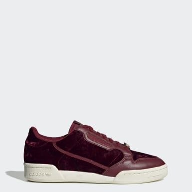 Women Originals Burgundy Continental 80 Shoes