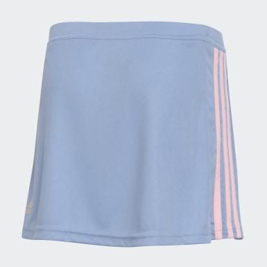 Pollera Leonas Azul Mujer Hockey