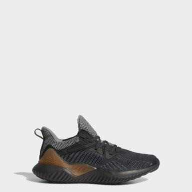 Youth Running Grey Alphabounce Beyond Shoes