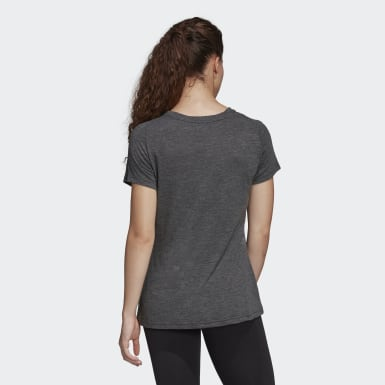 Frauen Athletics Must Haves Winners T-Shirt Schwarz