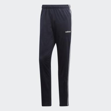 Pantalon Essentials3-Stripes Tapered bleu Hommes Entraînement