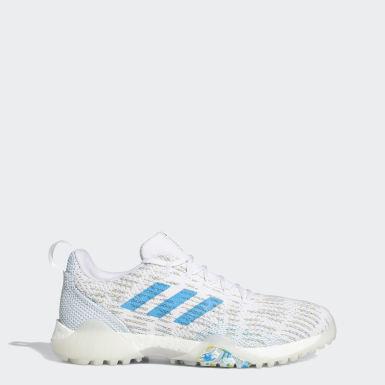 Men Golf White CodeChaos Primeblue Golf Shoes