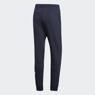 Men Essentials Blue Must Haves French Terry Badge of Sport Pants