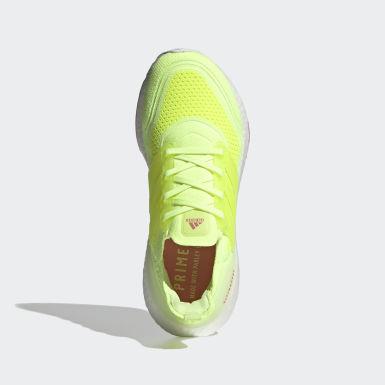 Ženy Běh žlutá Boty Ultraboost 21