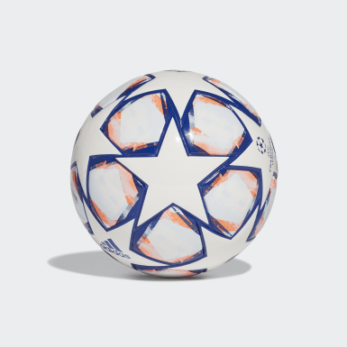 UCL Finale 20 Miniball Hvit