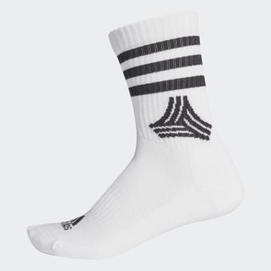 Soccer Black Soccer Street 3-Stripes Crew Socks