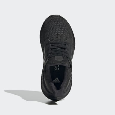 Children Running Black Ultraboost 20 Running Shoes
