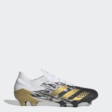 Voetbal wit Predator Mutator 20.1 Low Firm Ground Voetbalschoenen