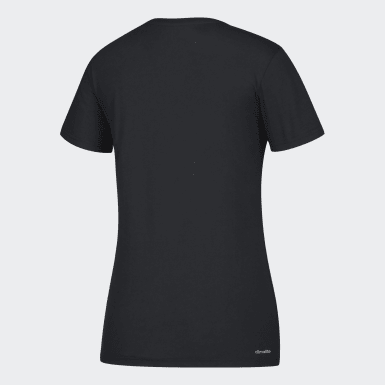Women's Sport Inspired Black Badge of Sport Tee