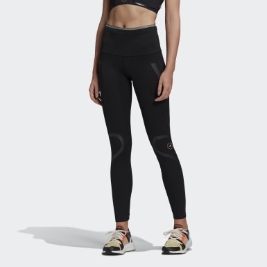 Frauen adidas by Stella McCartney adidas by Stella McCartney TruePace lange Tight Schwarz