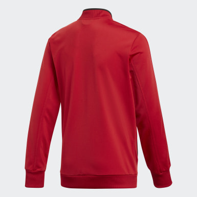 Kinder Training Condivo 18 Jacke Rot