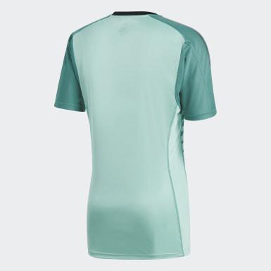 Jersey Oficial de Arquero Selección de España Local 2018 Verde Hombre Fútbol
