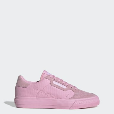 Women Originals Pink Continental Vulc Shoes