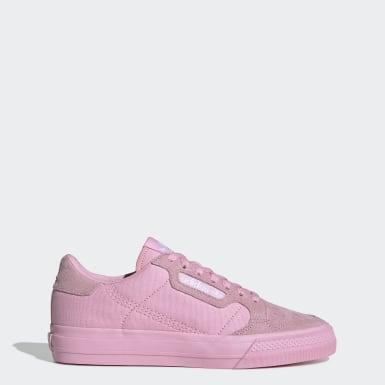Kvinder Originals Pink Continental Vulc sko