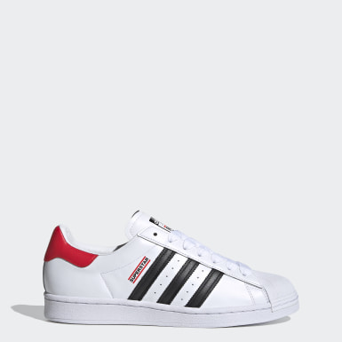 Chaussure Superstar Run-DMC blanc Originals