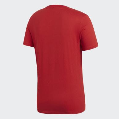 Muži Trénink červená Tričko Core 18