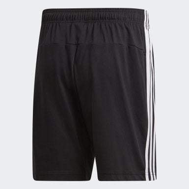 Shorts Essentials 3 Tiras Negro Hombre Training