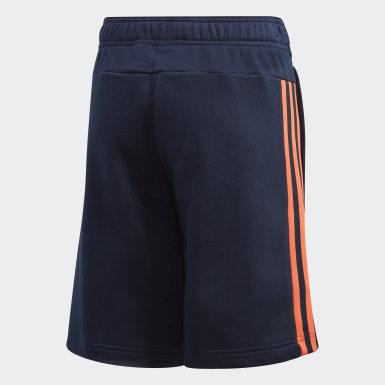 Short Blu Ragazzo Athletics