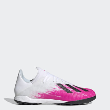 Fodbold Hvid X 19.3 Turf støvler