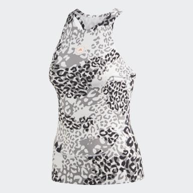 ผู้หญิง adidas by Stella McCartney สีขาว เสื้อกล้าม TRUEPURPOSE