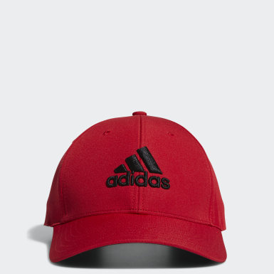 Men Golf Red Performance Cap
