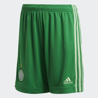 Børn Fodbold Grøn Celtic FC 20/21 udebaneshorts